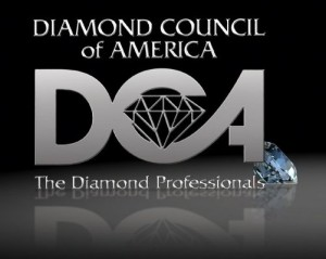 Kelowna's Gold Buyer: Diamond Council of America Logo
