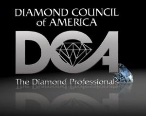 Kelowna's Gold Buyer: Diamond Council of America Logo