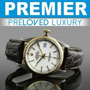 Kelowna's Watch Buyer: 2 tone Rolex Datejust